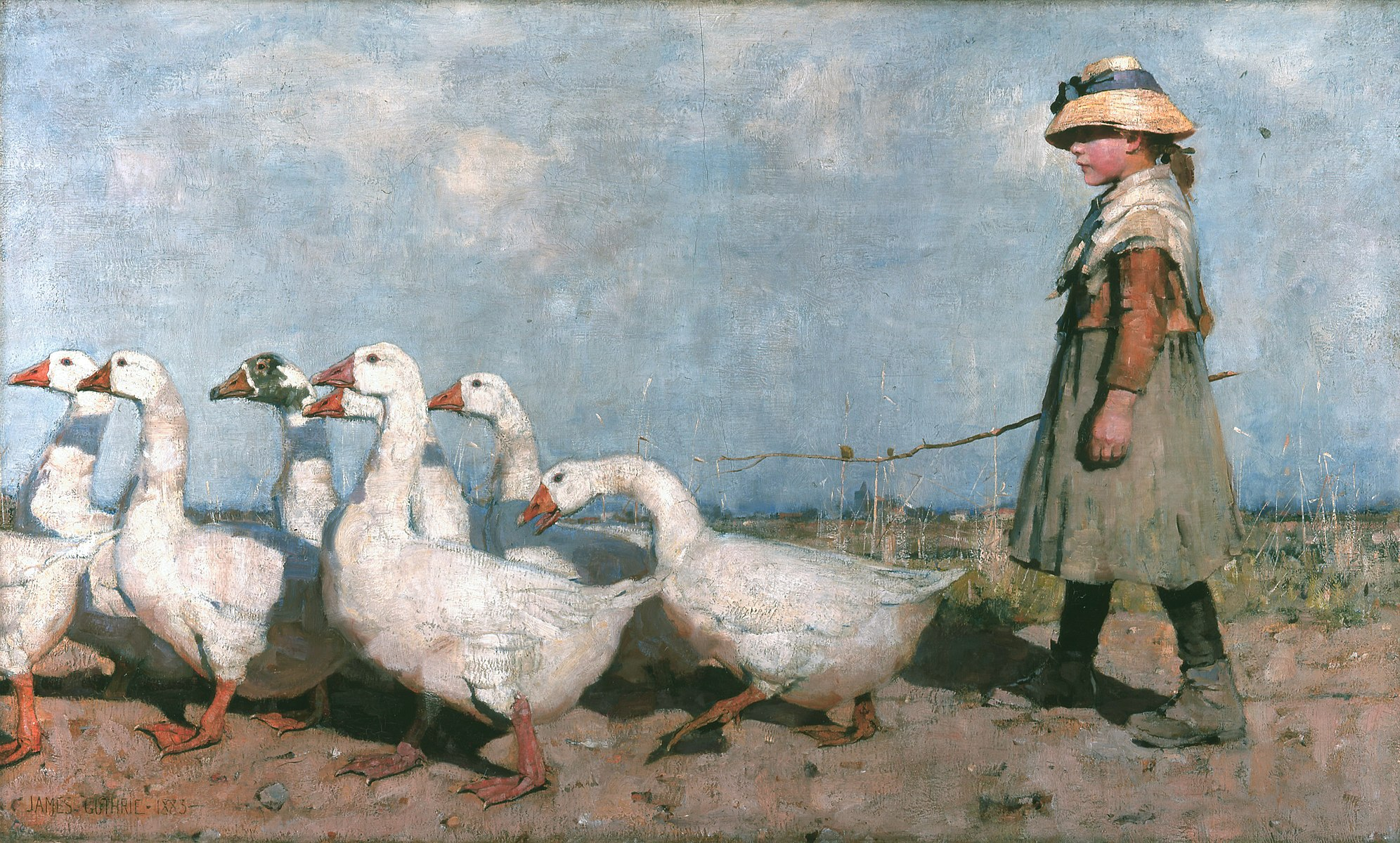James Guthrie - To Pastures New 1883.jpg
