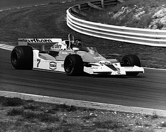 McLaren M26 - James Hunt driving a McLaren M26 in the 1978 British Grand Prix at Brands Hatch.