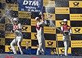Jamie Green, Mattias Ekström, Nico Müller, DTM Red Bull Ring 2017 (36596828333).jpg