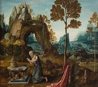 Jan de Beer (painter) - Penitent St. Jerome in a landscape