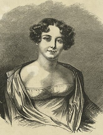 Jane Franklin - 1816 Portrait by Amelie Romilly