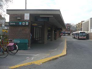 Jane station - Image: Jane TTC Armadale