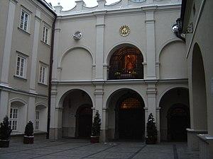 Wejście do Kaplicy