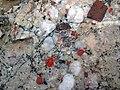 Jasper pebbles in quartzite (Lorrain Formation, Paleoproterozoic, ~2.3 Ga; Ottertail Lake Northeast roadcut, near Bruce Mines, Ontario, Canada) 24 (46792984745).jpg