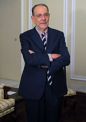 Javier Solana - Image: Javier Solana in the Parliament of Iran