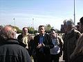 Jean-François Caron - rencontre avec les écologistes belges le 24 avril 2010.jpg