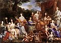Jean Nocret - The Family of Louis XIV - WGA16576.jpg
