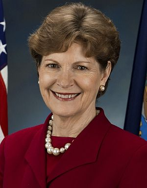 United States Senate election in New Hampshire, 2002 - Image: Jeanne Shaheen, official Senate portrait cropped