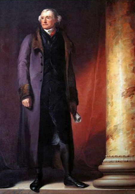 Jefferson Portrait West Point by Thomas Sully