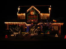 outdoorsedit a house decorated for christmas - Christmas House Decoration Ideas Outdoor