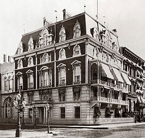 The Union League Club - The club's second headquarters, the Jerome Mansion on Madison Avenue