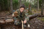 Jessica U. Meir works with survival gear.jpg