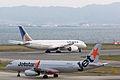 Jetstar Japan, GK206, Airbus A320-232, JA13JJ, Departed to Narita, Kansai Airport (17009656258).jpg