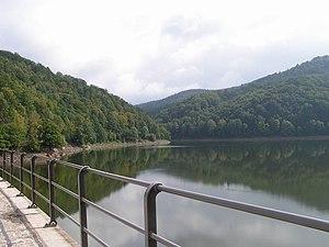 Zagórze Śląskie - Lubachowskie Lake, near the village