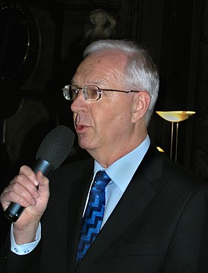 Czech Academy of Sciences - Jiří Drahoš, the president of the Czech Academy of Sciences between 2009 and 2017