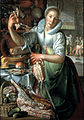 Joachim Wtewael - The kitchen maid - Google Art Project.jpg
