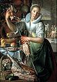 Joachim Wtewael - The kitchen maid - Google Art Project.jpg