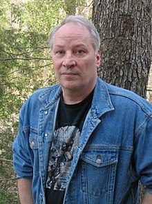 Joe Lansdale, somewhere in East Texas