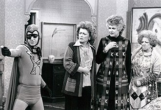 John Byner - John Byner, Rue McClanahan, Bea Arthur and Hermione Baddeley on Maude (1977)