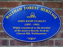 John kemp starley (waltham forest heritage)