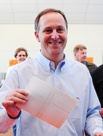John Key - Key voting in Epsom in 2008