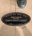 John Lennon plaque, Liverpool Airport.jpg