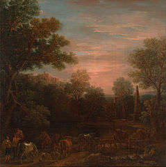 Classical Landscape: Evening