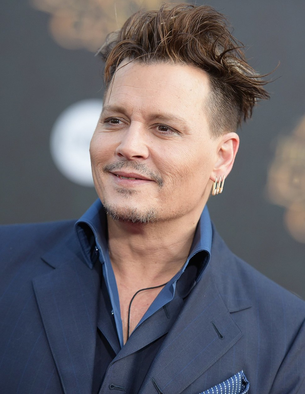 Johnny Depp Alice Through the Looking Glass premiere