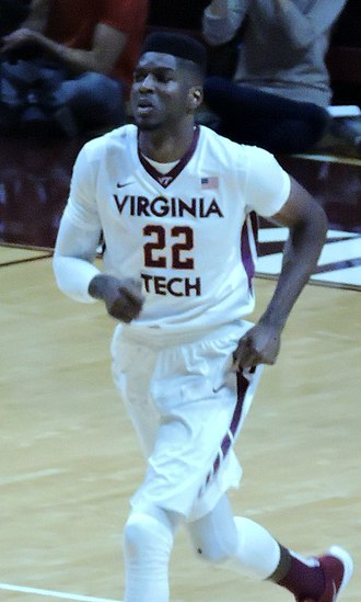 Johnny Hamilton (basketball) - Hamilton with Virginia Tech in 2015