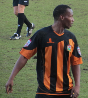Jon Nurse - Nurse playing for Barnet in 2013