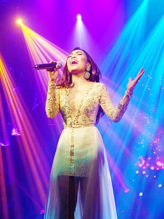 Jona Viray Filipina singer and actress