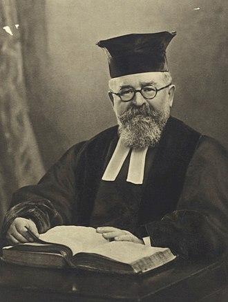 Joseph Hertz - Rabbi Hertz in the late 1920s