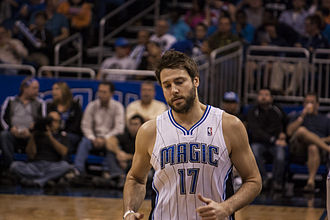 Josh McRoberts - McRoberts playing for the Magic in 2012
