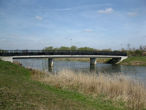 Jubilee River bridge - geograph.org.uk - 1802278