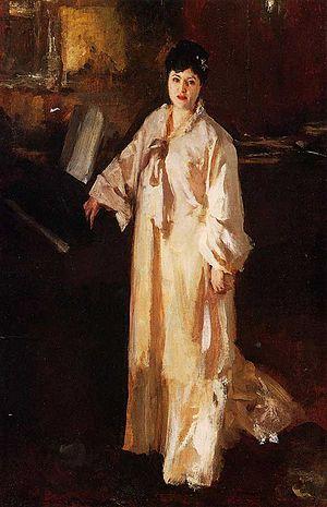 Judith Gautier - Judith Gautier, John Singer Sargent, 1885