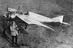 Jules Vedrines and one of his Morane-Saulnier N fighters.jpg