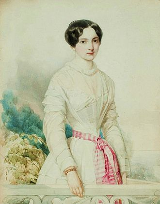 Julia, Princess of Battenberg - Julia Hauke by Woldemar Hau