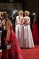 Julia Nina Meise Ronja Hilbig Filmball Vienna 2015 a.jpg