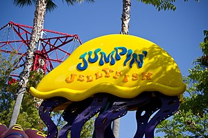 Jumpin' Jellyfish - Image: Jumpin Jellyfish sign