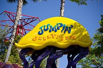 Jumpin' Jellyfish - Image: Jumpin Jellyfish sign