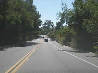 Junipero Serra Boulevard - Junipero Serra Boulevard in Palo Alto.