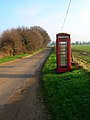 K6 Telephone Box, Greatham Lane - geograph.org.uk - 297300.jpg