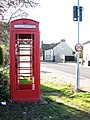 K6 telephone box in Beccles Road (A143) - geograph.org.uk - 1578348.jpg