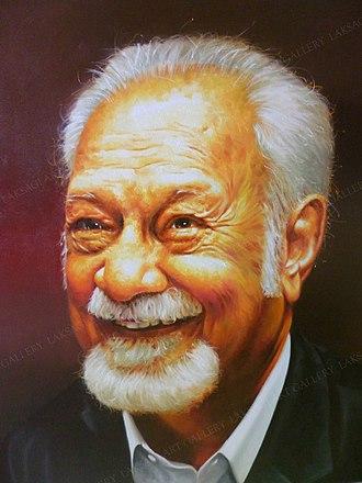 Karpal Singh - Oil portrait of Karpal