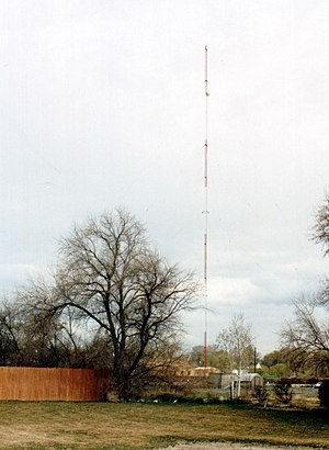 KEXO - The radio tower for KEXO, located near downtown.