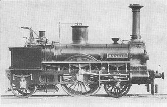 History of rail transport in Austria - The Rakete (Rocket) of the Kaiser-Ferdinands-Nordbahn