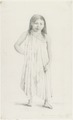 KITLV - 36A238 - Borret, Arnoldus - Indian woman, Surinam Indian camp on the Coppename - Pencil - 1878-09-04.tif