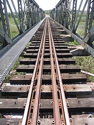 Avontuur Railway - Image: Kabeljous Avontuur Railway bridge 001