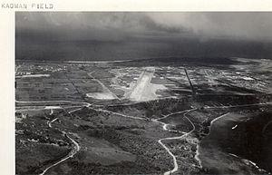 East Field (Saipan) - Kagman Field, 25 April 1945