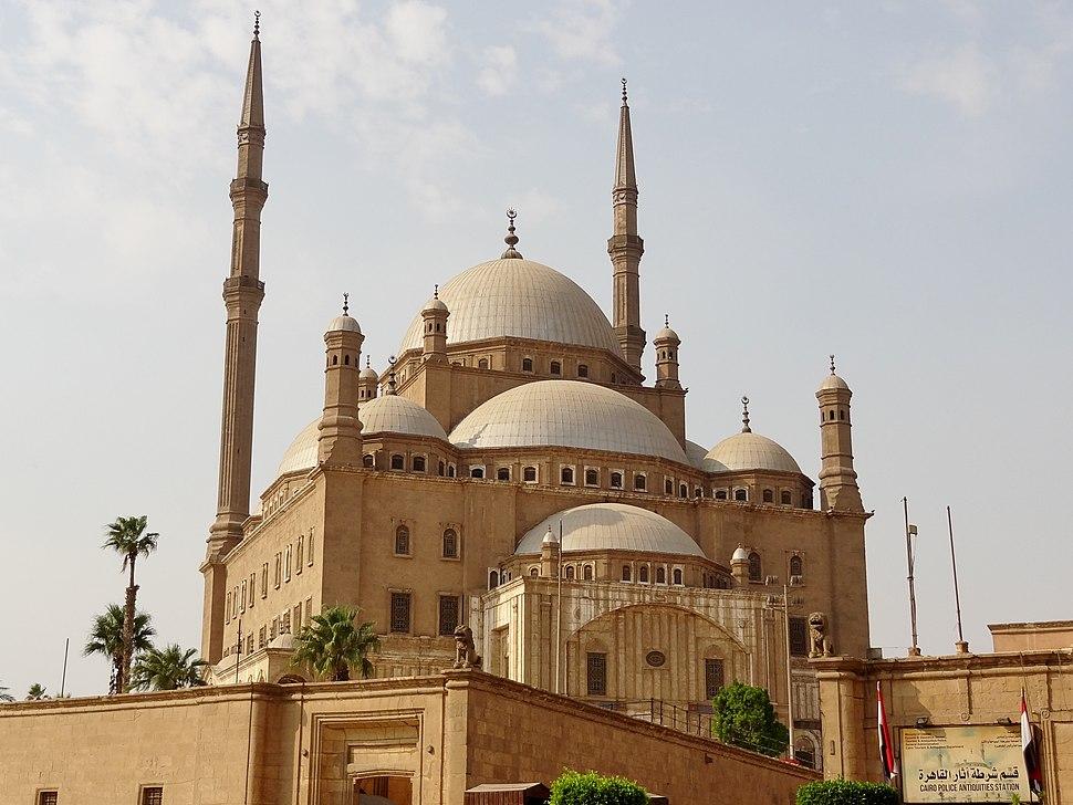 Kairo Zitadelle Muhammad-Ali-Moschee 02
